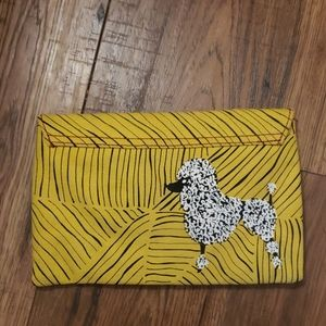 Anthropologie Pilcro and the Letterpress clutch